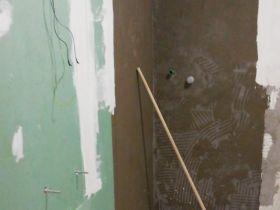 Lavori nuovi bagni in camera